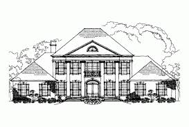 eplans neoclassical house plan six bedroom neoclassical 4623