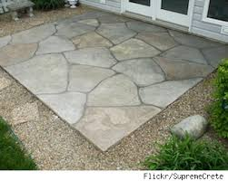 2017 Stamped Concrete Patio Cost Want A Patio Try Stamped Concrete As A Low Cost Alternative Aol