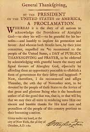 president george washington s thanksgiving proclamation