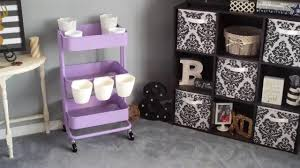 the making of my first lavender raskog cart from ikea youtube