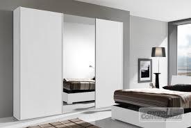 guardaroba ante scorrevoli prezzi armadio 3 ante scorrevoli con specchio centrale colore bianco