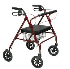 senior walkers with seat heavy duty bariatric rollator walker with large padded seat