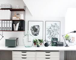 Schreibtisch Mit Regal Mein Arbeitszimmer Nun Auch Gefühlt Endlich Fertig Ikea Alex