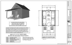 free cabin floor plans 7 free cabin plans you wont believe you can diy small cabin plan