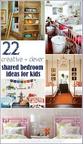 22 creative clever shared bedroom ideas for kids jenna burger by