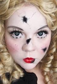 Scary Doll Halloween Costume Doll Makeup Creepy Halloween Doll Photo Shoot Ideas