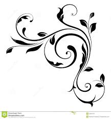 swirls design element swirls 4 royalty free stock images