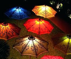 solar powered umbrella lights solar lighted umbrellas ideas patio string umbrella lights for