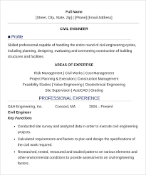 Sample Resume Formats For Freshers by 16 Civil Engineer Resume Templates U2013 Free Samples Psd Example
