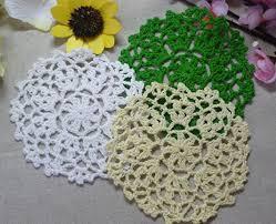 napperon de cuisine dentelle coton table tapis tissu cuisine accessoires ronde crochet