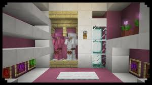 minecraft how to make a walk in closet girly edition youtube