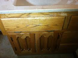bathroom cabinets 2 u2013 before and after u2013 gleam guard refinish