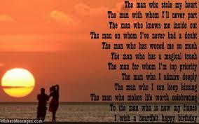birthday poems for fiance u2013 wishesmessages com