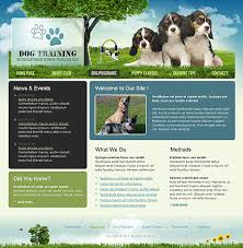 informational website templates dog training website template best website templates