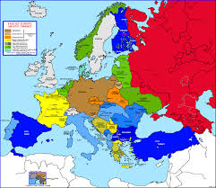 Show Me A Map Of Asia by Map Of Europe During The Cold War Roundtripticket Me
