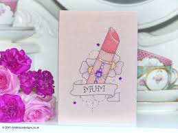 vickilicious designs handmade mother u0027s day cards
