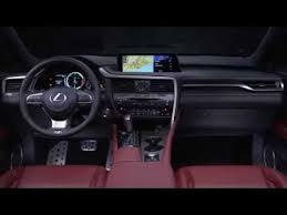 lexus rx 350 uk 2016 lexus rx 350 f sport interior design automototv http