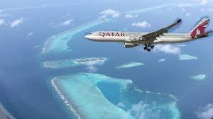 Qatar Airways Qatar Airways Landing In Maldives