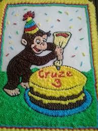 curious george birthday cake curious george birthday cake cakecentral inside curious george