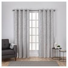 Victoria Classics Curtains Grommet by Lamont Branch And Vine Textured Linen Jacquard Grommet Top Window