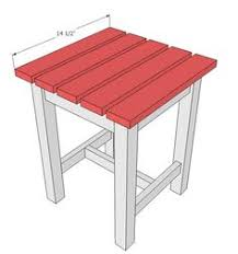 Patio End Table Plans Free by Diy Cedar Patio Table Free Plans At Buildsomething Com Kreg
