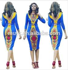 l0623a african dress patterns long sleeve dashiki african bodycon