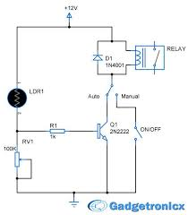 parking lights circuit diagram schematic or electronic design