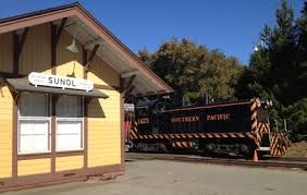 sunol train of lights schedule fares niles canyon railway