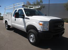 Ford F350 Work Truck - used 2012 ford f350 srw service utility truck for sale in az 2247