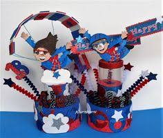 skydiving party birthday cake topper under roof skydiving