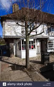 home shop buildings historic shop buildings in lenham village kent uk stock photo