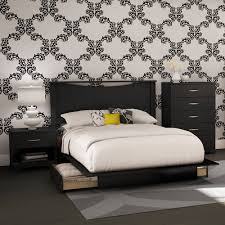Bed And Nightstand Set Bedroom Sets Walmart Com