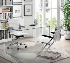 bureau en verre design bureau en verre design epure arketiss design