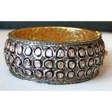 rose bangle bracelet images Cut diamond bangle bracelet JPG