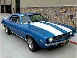 blue 1969 camaro 1969 chevrolet camaro z28 for sale on classiccars com 39 available