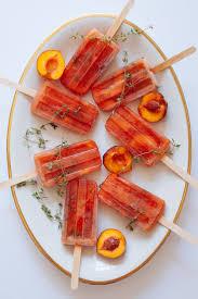 peach kitchen ideas best 25 peach popsicles ideas on pinterest vodka popsicles