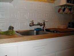 kitchen backsplash tin ceiling tin panels fake tin backsplash
