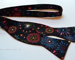 new years ties novelty bow ties etsy
