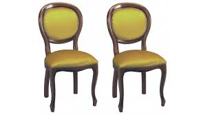chaises medaillon chaises médaillon velours or louis philippe