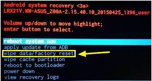 factory reset android all things you need to about wipe data factoy reset dr fone