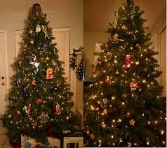 8 bit christmas tree sprite stitch