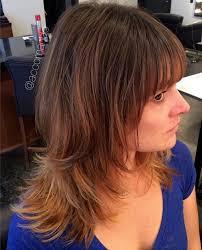 gray shag haircuts hair style fashion