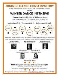 orange schools host winter intensive during winter