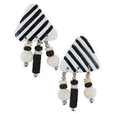 Chandelier Beaded Earrings White Bead Beaded Chandelier Ebay