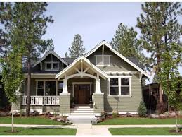 one story craftsman house plans with porches