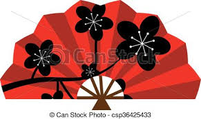 asian fans fan clipart traditional pencil and in color fan clipart