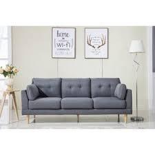 midcentury modern sofa modern sofas couches allmodern