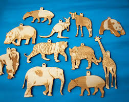 animal ornament etsy
