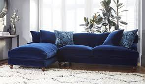 deep blue velvet sofa why you should probably buy a velvet sofa in 2017 blue velvet sofa