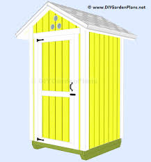 How To Build A Small Garden Shed by Diy 4x4 Garden Tool Shed